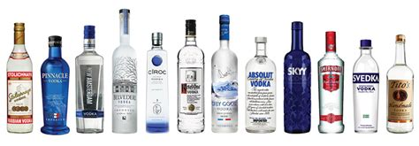 Top Shelf Drinks List by Which Vodka Bottle Do Americans Find Sexiest And Why Should We Care