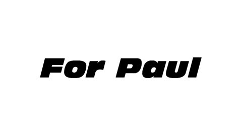 fast and furious font shots from furious 7 that used a vfx paul walker movies