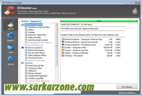 ccleaner latest update download ccleaner v4 08 4428 latest update pak softzone