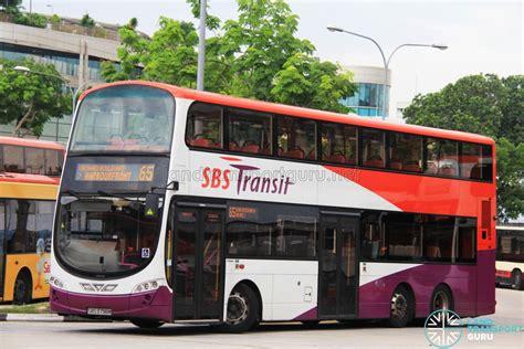 sbs transit bus service  land transport guru
