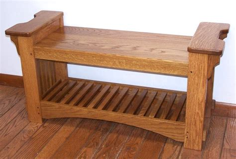 mission style benches mission style bench by knotscott lumberjocks com