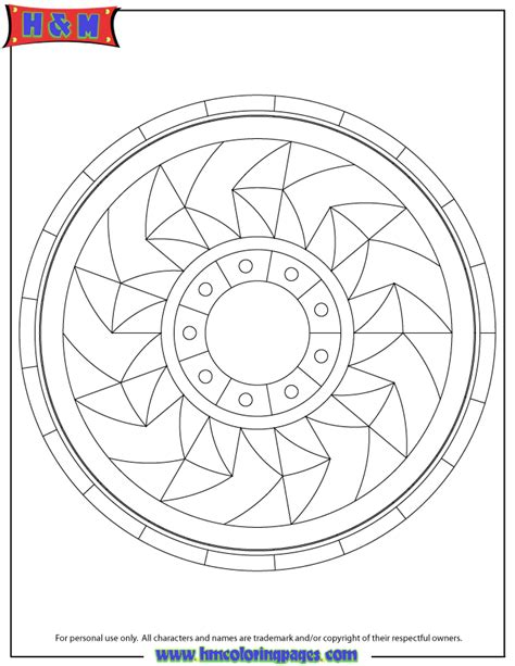 circle mandala coloring page circle wheel mandala coloring page h m coloring pages