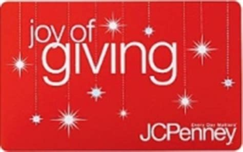 Jc Penny Gift Card - jc penney