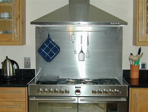stainless steel backsplashes for kitchens ikea stainless steel backsplash the point pluses homesfeed