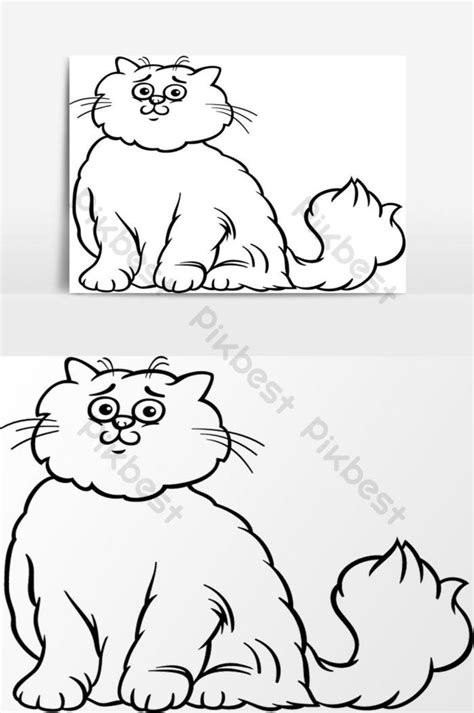 Gambar Kartun Kucing Untuk Mewarnai - 81021+ Nama Untuk