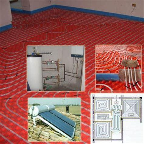 riscaldamento a pavimento con pannelli solari pannelli solari termici per il riscaldamento a pavimento