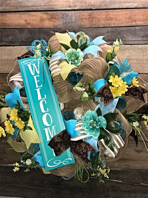 decorative wreaths for the home spring wreath summer wreath welcome wreath everyday