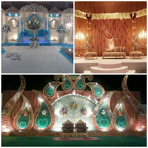 amazing stage decoration ideas for muslim weddings