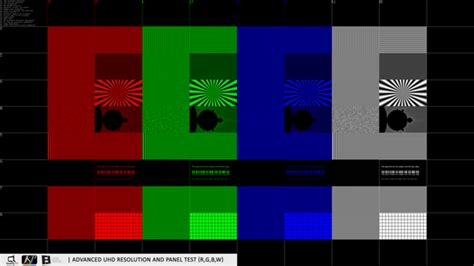 test pattern of nab quality tv full hd and uhd universal test patterns hdr sdr