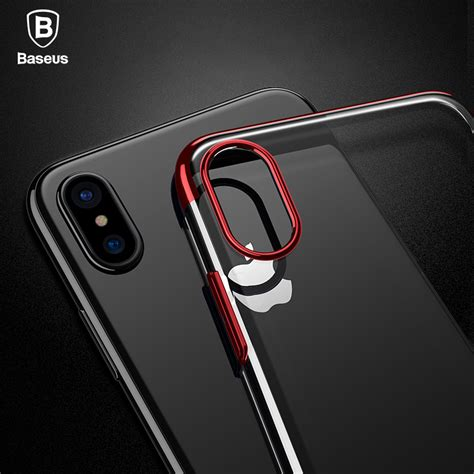 Ultrathin 2in1 Glitter Iphonesamsungxiaomioppoasus aliexpress buy baseus pc for iphone x cases luxury transparent plastic for