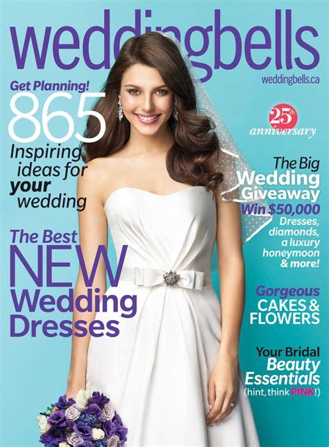 Wedding Bell Magazine Canada definitely different in wedding bells magazine