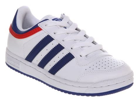 kids adidas top ten lo youth whiteroyalred ebay