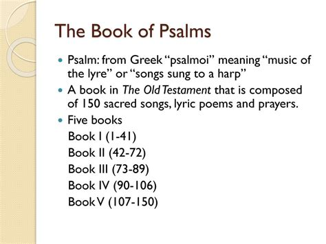 2 psalms psalms 73 150 teach the text commentary series books psalms 诗篇 the book of psalms ppt