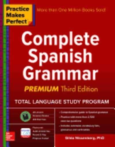 libro practice makes perfect spanish pasajes librer 237 a internacional libros de gram 225 tica y ortograf 237 a