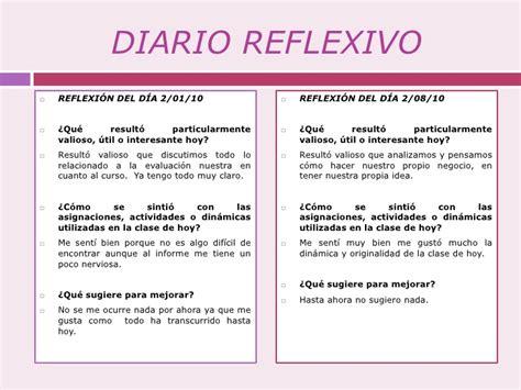 preguntas guias para un diario reflexivo innovando juntos aprendiendo juntos el diario reflexivo