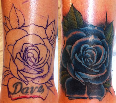 rose tattoo cover up lonsdale bondi sydney cover up