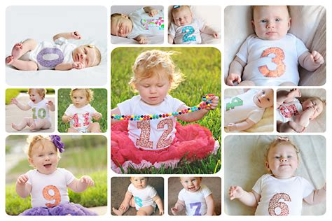 Mick Luvin Photography Free 0 12 Month Storyboard Template 12 Month Photo Collage Template