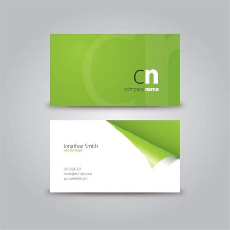 template business card ai free 20 best free business card illustrator templates 2016