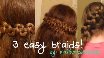 Easy braids for everyday youtube