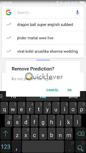 reset android keyboard history how to clear android keyboard history and predictive text
