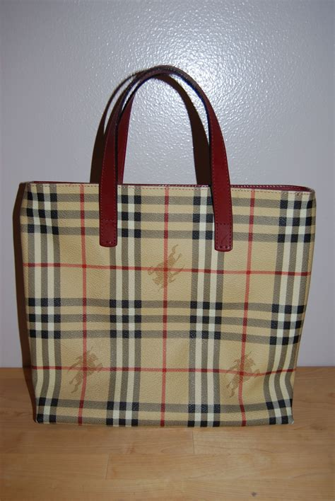 Burberry Bag burberry leather trim safari designer bags