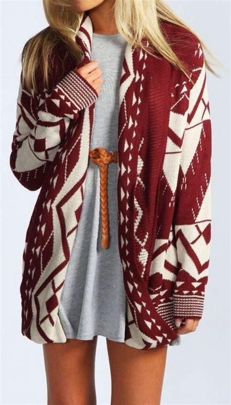 aztec drape cardigan sirenlondon aztec drape red cardigan