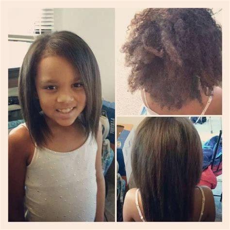 biracial haircuts for women brazillian blowout on my beautiful 8 year old daugher she