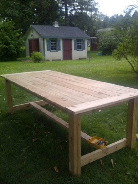 Farmhouse Patio Table 1000 Ideas About Outdoor Farm Table On Pinterest Jelly Cabinet Rustic Farm Table And Outdoor