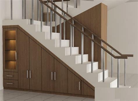 contoh desain lemari bawah tangga harga dan model lemari bawah tangga rumah minimalis