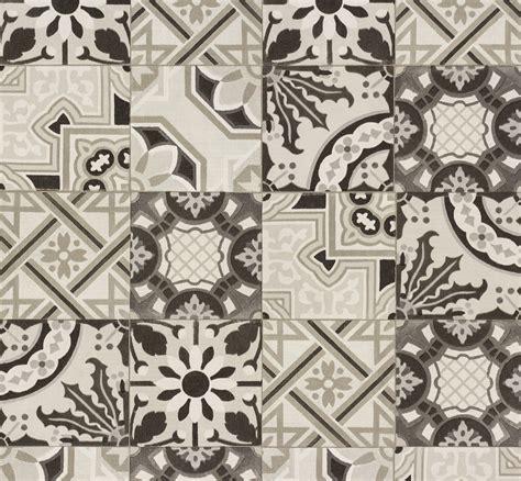 Mosaik Fliesen Tapete by Vliestapete Fliese Mosaik Ethno Rasch Schwarzwei 223 526318