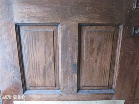 Exterior Wood Door Stain How To Refinish An Exterior Door The Easy Way