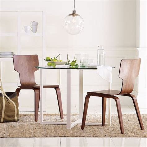 stackable chair west elm dining room makeover