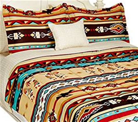 native american comforters com southwest turquoise tan red native american