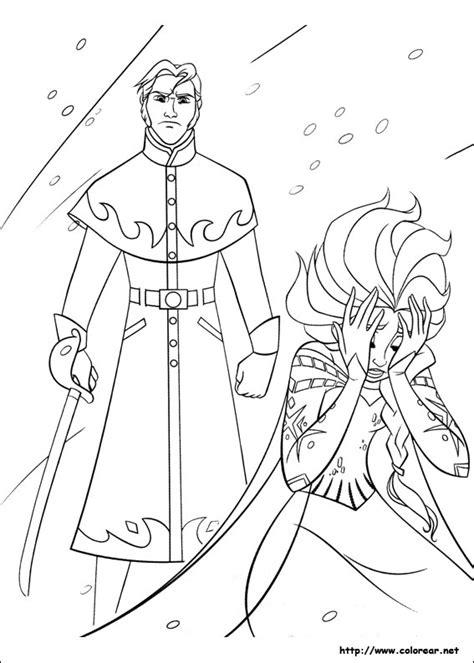 frozen story coloring pages dibujos para colorear de frozen el reino del hielo