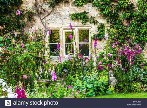 cottage garden a pretty cottage garden in the cotswold of