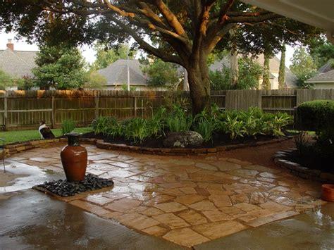 Backyard Flooring Landscaping by Green Backyard Landscape Ideas Enhancing Magnificent