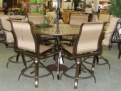 bar height patio sets bar height patio dining sets patio design ideas