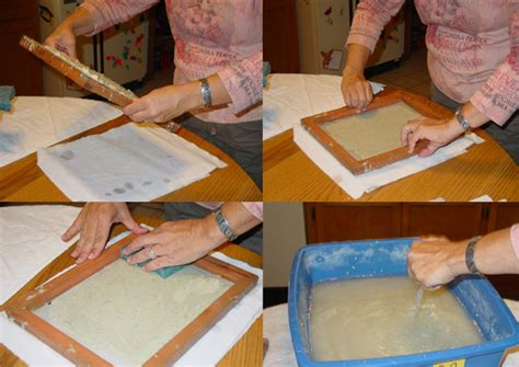 Make Paper Pulp - how to make paper from recycled materials etsy journal