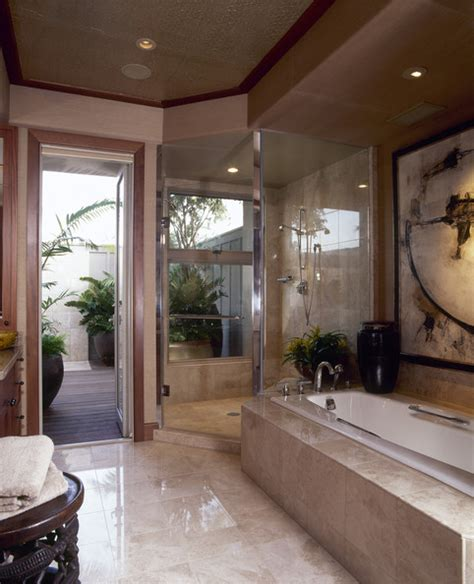 Small Corner Bathtub With Shower Sunken Bath Photos Design Ideas Remodel And Decor Lonny
