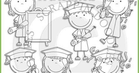 imagenes niños graduados nia graduacion para colorear graduandos graduaci 211 n