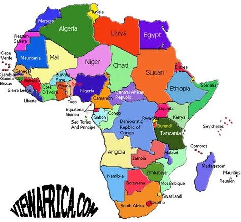 africa country map map of countries khafre