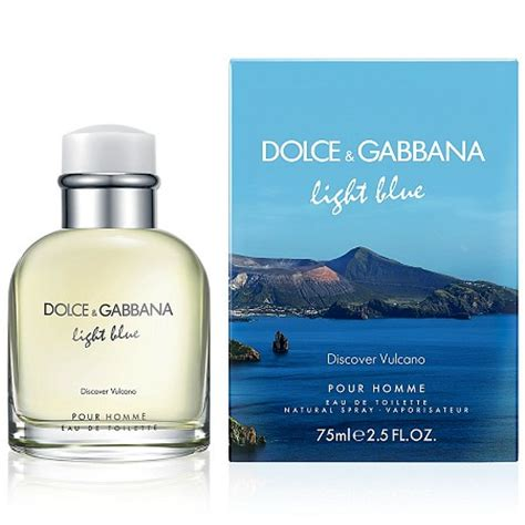 dolce and gabbana light blue for men light blue discover vulcano cologne for men by dolce