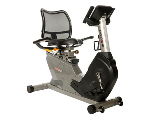 recumbent bike seat mesh lifecore fitness space saving self powered recumbent bike