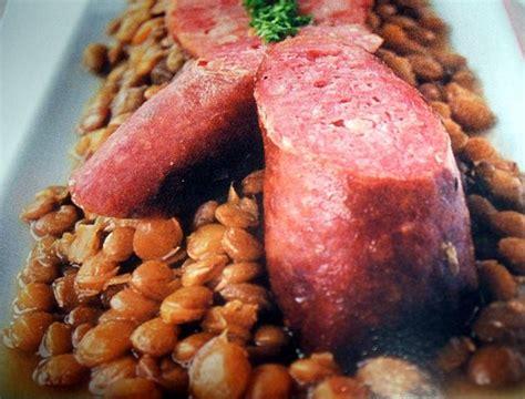 recette des lentilles aux saucisses de morteau recettes