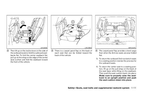 service manual motor repair manual 1994 nissan pathfinder seat position control service