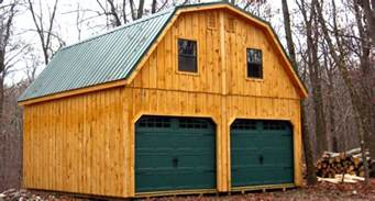 Metal Garage Designs 20x20 Raised Roof Garage With Metal Gambrel Roof Little