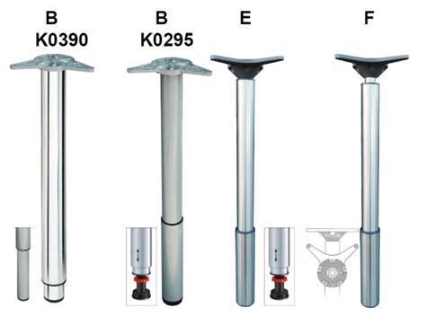gambe regolabili per tavoli gambe regolabili in metallo per tavoli