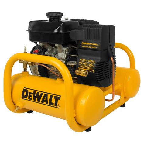 dewalt 4 gal portable subaru gas powered free direct drive air compressor dxcmta5090412