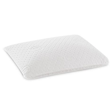 memory foam pillow bed bath beyond serta 174 sleeptogo duocore dual comfort gel memory foam