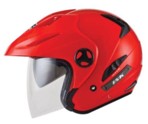 Ink Flash Solid 2 Visor daftar harga terbaru helm ink half safety